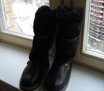 Фотография в Одежда и обувь, аксессуары Мужская обувь Продам абсолютно новые унты из кожи на меху, в Москве 2600