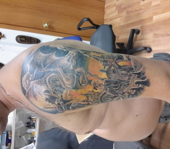 Изображение в   Татуировки всех стилей, исправление татуировки, в Москве 3000