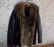 Фото в   Кожаная куртка Италия мех волка, новая, размер в Москве 13500