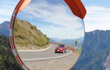 Обзорные зеркала безопасности дорожные и для помещений