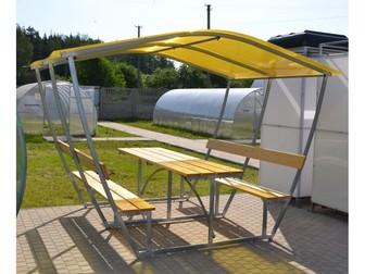 Скачать изображение  Беседки с лавочками и столиком  Супер акция 80594392 в Астрахани