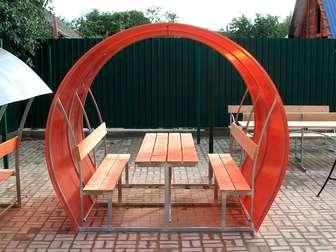 Новое изображение  Беседки с лавочками и столиком  Супер акция 80594392 в Астрахани