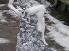 Скачать фотографию Мебель для дачи и сада Фонтан бетонный Девушка на камне пр, Беларусь 2 м, 200 кг, 38788704 в Мытищи