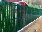 Уникальное фото  Продам штакетник металлический в Нариманове 37894523 в Нариманове