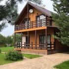 Новый дом на берегу большого озера в Совхозе Победа
