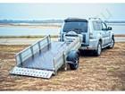 Свежее изображение Прицепы для легковых авто Прицеп бортовой складной для квадроцикла, мототехники и прочих грузов 69462074 в Нижнем Новгороде
