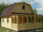 Дом из бруса с террасой. Строительство.Кредит