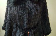 Норковые вязанные меховые куртки