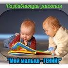 Развивающие занятия от 8 месяцев до 3 лет «Мой малыш – гений!»