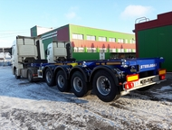 Полуприцеп - контейнеровоз 4х-осный универсал Steelbear Цена 28 285 Евро. АО «ВО