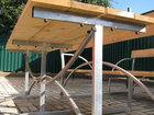 Фото в Мебель и интерьер Мебель для дачи и сада Реализуем дачные столы. Стол дачный размером в Новошахтинске 2450