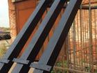 Фото в Строительство и ремонт Строительные материалы Реализуем столбы из металла для забора . в Новошахтинске 245