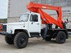Скачать бесплатно фото Автогидроподъемник (вышка) Автовышка ГАЗ 33081,высота подъема 16м 33075026 в Новосибирске