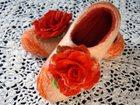 Новое фото Женская обувь Тапочки ручной работы 33111287 в Новосибирске