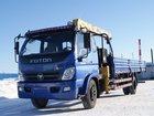 Просмотреть фото  Кран-манипулятор Foton 7 тонн КМУ 5 тонн, 12 метров, 34790041 в Новосибирске