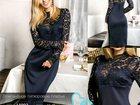Скачать фотографию Женская одежда Элегантное гипюровое платье, новое 35293102 в Новосибирске