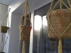 Изображение в Мебель и интерьер Другие предметы интерьера Свяжу кашпо на любой горшок , обвяжу старый в Новосибирске 500
