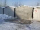 Изображение в Недвижимость Гаражи, стоянки Продам железный гараж с местом, размер 3*6, в Новосибирске 55000