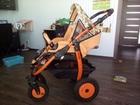 Скачать фото Детские коляски Продам коляску-вездеход Farfello orange line 2-в-1 38675789 в Новосибирске