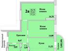 Фото в Недвижимость Продажа квартир 2-х комнатная квартира в новом доме, под в Новосибирске 2578240