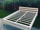 Кровать 160/200 из натурального дерева