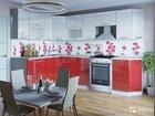 Кухня модульная красный Глянец /белый глянец