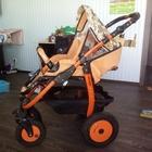 Продам коляску-вездеход Farfello orange line 2-в-1