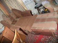 Продам кресло-кровать Продам кресло-кровать в отличном состоянии. Раскладывается