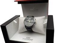 Наручные часы Tissot Мужская модель часов Tissot:  Корпус: Полированная гипоалле