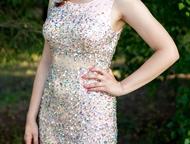 Продам вечернее платье в отличном состоянии Платье нежно розового цвета размера