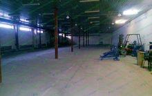 Сдам в аренду отапливаемое складское помещение площадью 1800 кв, м, №А1334