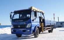 Кран-манипулятор Foton 7 тонн КМУ 5 тонн, 12 метров