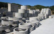 Кольца бетонные колодцев