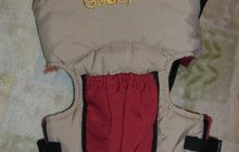 Слинг (рюкзак для переноски ребенка, кенгурушка) Geoby