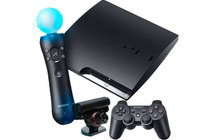 PlayStation 3 Slim 160gb + PlayStation Movie