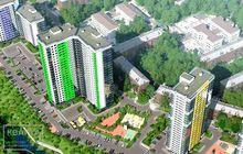 Продается полноценная 2х-комнатная квартира с панорамным вид
