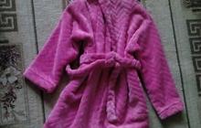 Продам халат банный для девочки р-р 116