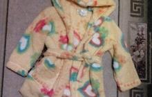 Продам халат банный для девочки 6-7 лет