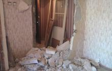 Демонтаж стен перегородок полов