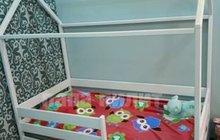 Кровать домик из Берёзы