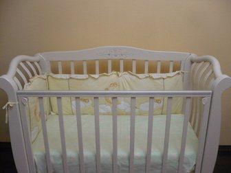 Свежее foto  Продается шикарная детская кроватка (0-3 года) 32462088 в Новосибирске