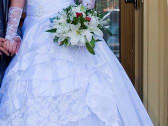 Уникальное изображение Свадебные платья Красивое Свадебное платье 46-52р 32797733 в Новосибирске