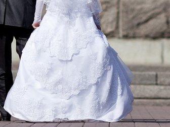 Уникальное foto  Продам шикарное свадебное платье 32835613 в Новосибирске