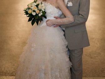 Просмотреть изображение Свадебные платья продам свадебное платье 33518084 в Новосибирске