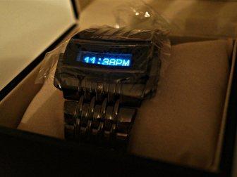 Увидеть foto  Часы DIESEL ХИЩНИК с бегущей строкой 33625614 в Новосибирске