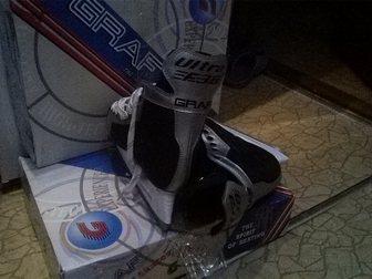 Новое фото  хоккейные коньки GRAF 34001028 в Новосибирске