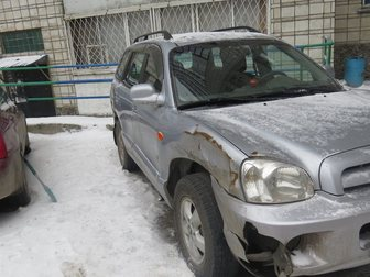 Свежее фото Аварийные авто Продам Хундай Сантафэ 34276381 в Новосибирске