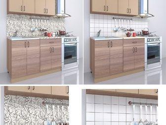 Свежее фото Кухонная мебель Кухонный гарнитур новый в упаковке с мойкой 34571453 в Новосибирске