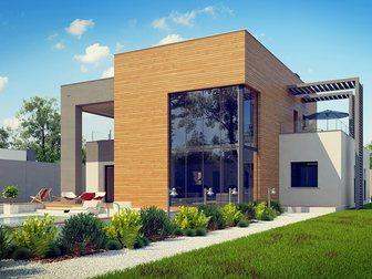 Новое изображение Строительство домов Проектирование, Строительство под ключ, Таун Хаузы, коттеджи, загородные дома, 34659200 в Новосибирске