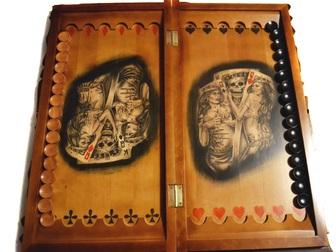 Увидеть фото  Подарочные нарды – ручная работа, гравировка 35863664 в Новосибирске